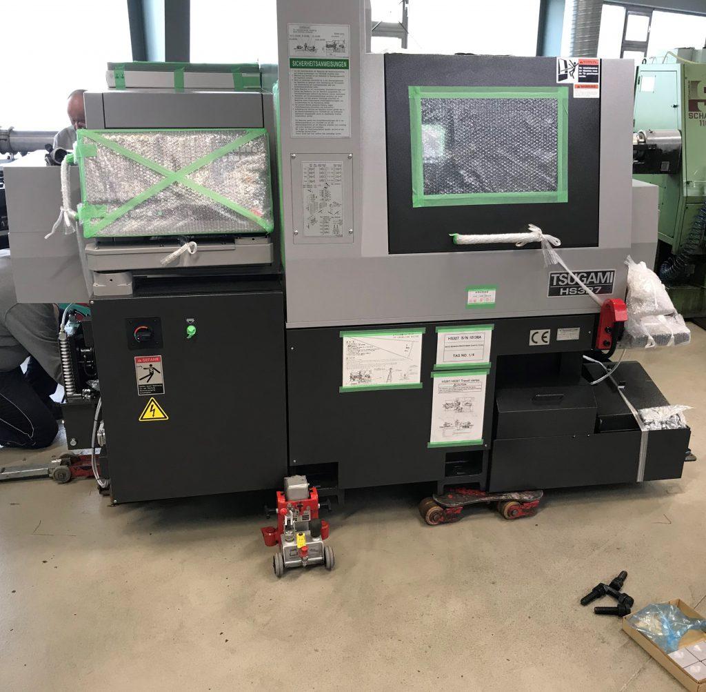 Neue CNC-Drehmaschine Tsugami HS 327